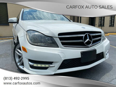 2014 Mercedes-Benz C-Class for sale at Carfox Auto Sales in Tampa FL