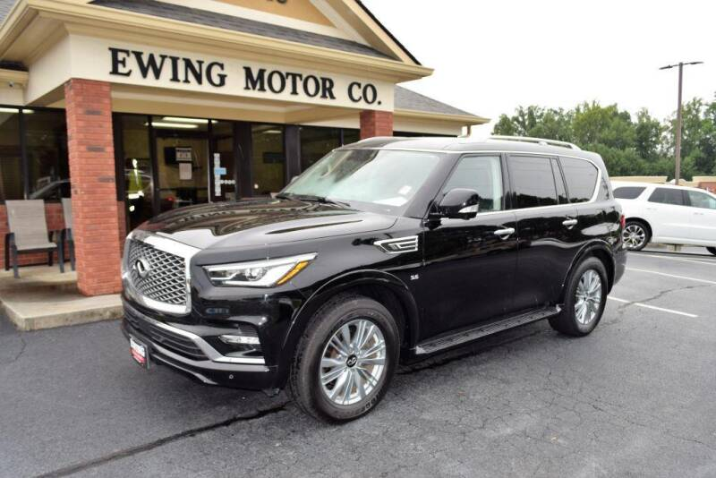 2019 Infiniti QX80 for sale at Ewing Motor Company in Buford GA