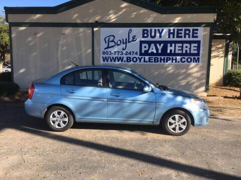 2009 Hyundai Accent for sale at Boyle Buy Here Pay Here in Sumter SC