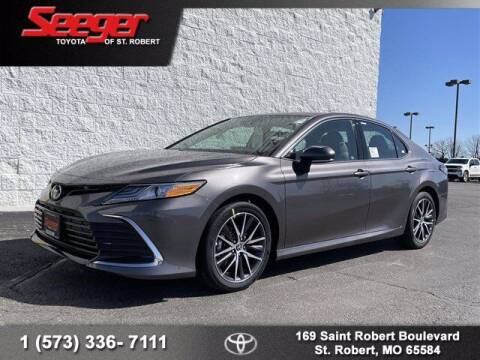 2021 Toyota Camry for sale at SEEGER TOYOTA OF ST ROBERT in St Robert MO