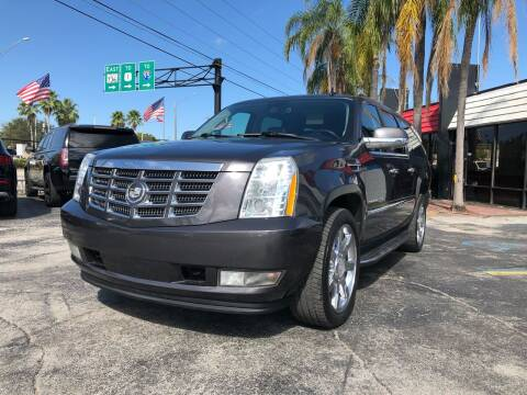 2011 Cadillac Escalade ESV for sale at Gtr Motors in Fort Lauderdale FL
