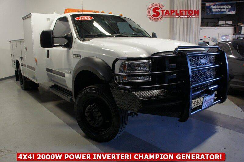 2006 Ford F-550 Super Duty for sale at STAPLETON MOTORS in Commerce City CO