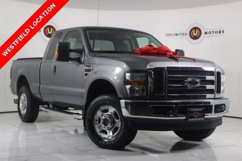2010 Ford F-250 Super Duty for sale at INDY'S UNLIMITED MOTORS - UNLIMITED MOTORS in Westfield IN