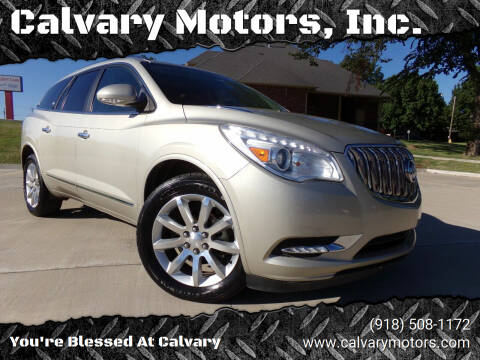 2013 Buick Enclave for sale at Calvary Motors, Inc. in Bixby OK