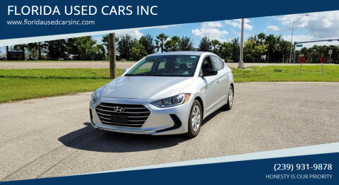 2017 Hyundai Elantra for sale at FLORIDA USED CARS INC in Fort Myers FL
