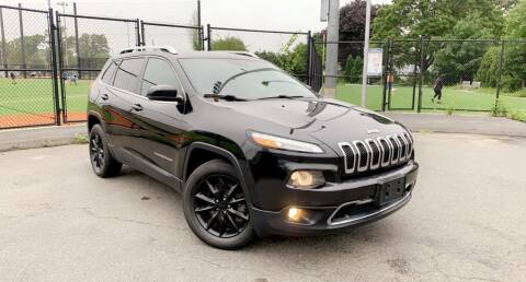 2014 Jeep Cherokee for sale at Maxima Auto Sales in Malden MA