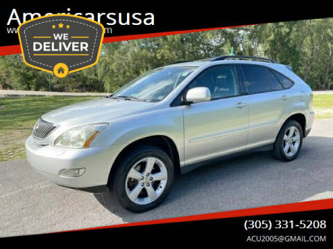 2006 Lexus RX 330 for sale at Americarsusa in Hollywood FL