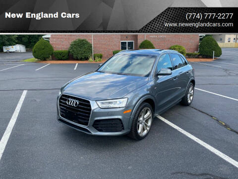 2016 Audi Q3 for sale at New England Cars in Attleboro MA