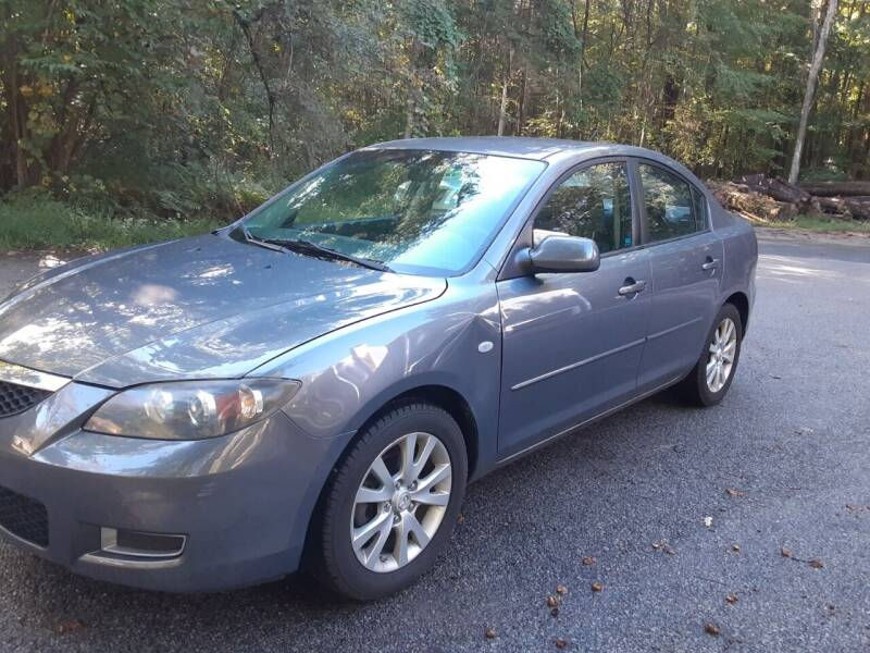 2007 Mazda MAZDA3 for sale at Cappy's Automotive in Whitinsville MA