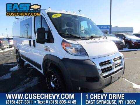 2017 RAM ProMaster Cargo for sale at East Syracuse Performance Sales & Service in Syracuse NY