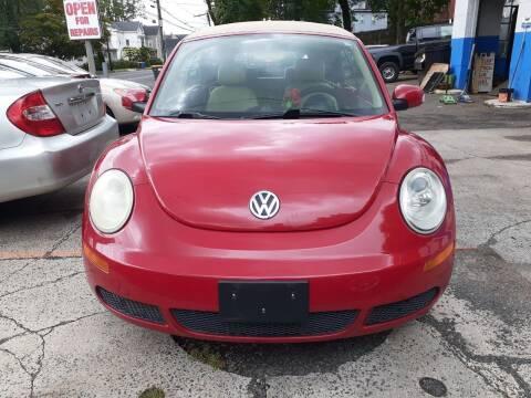 2008 Volkswagen New Beetle Convertible for sale at Broad Street Auto in Meriden CT