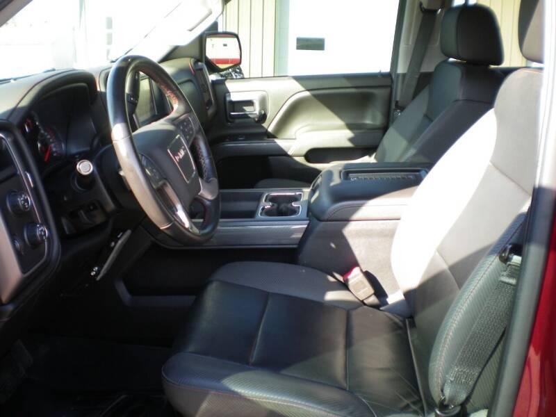 2016 GMC Sierra 1500 4x4 SLT 4dr Crew Cab 5.8 ft. SB - Barnesville OH