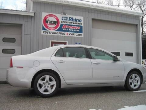 2010 Chevrolet Malibu for sale at BYRNES RUST PROOFING CENTER AND AUTO SALES in N.Clarendon VT