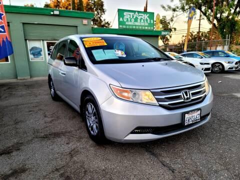 2012 Honda Odyssey for sale at Stark Auto Sales in Modesto CA