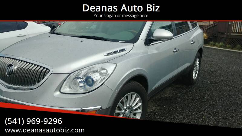 2012 Buick Enclave for sale at Deanas Auto Biz in Pendleton OR