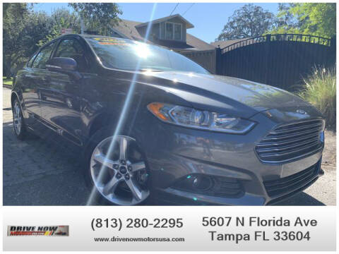2016 Ford Fusion for sale at Drive Now Motors USA in Tampa FL