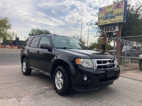 2011 Ford Escape for sale at Nomad Auto Sales in Henderson NV