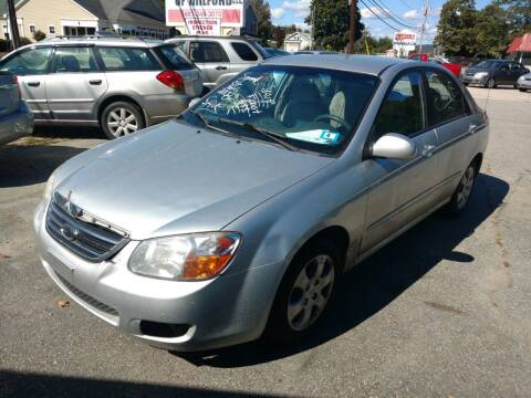 2008 Kia Spectra for sale at Auto Brokers of Milford in Milford NH