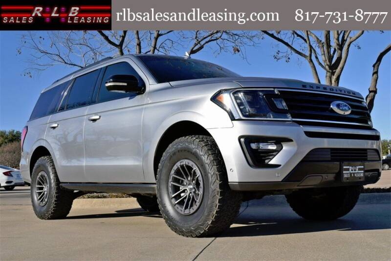 2020 Ford Expedition for sale at RLB Sales and Leasing in Fort Worth TX