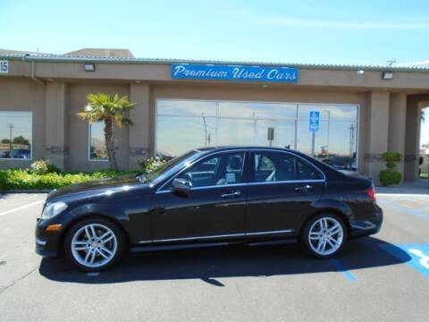 2013 Mercedes-Benz C-Class for sale at Family Auto Sales in Victorville CA