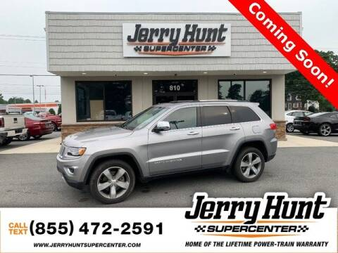 2015 Jeep Grand Cherokee for sale at Jerry Hunt Supercenter in Lexington NC