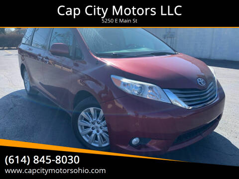 2013 Toyota Sienna for sale at Cap City Motors LLC in Columbus OH