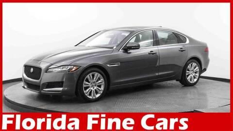 2017 Jaguar XF for sale at Florida Fine Cars - West Palm Beach in West Palm Beach FL