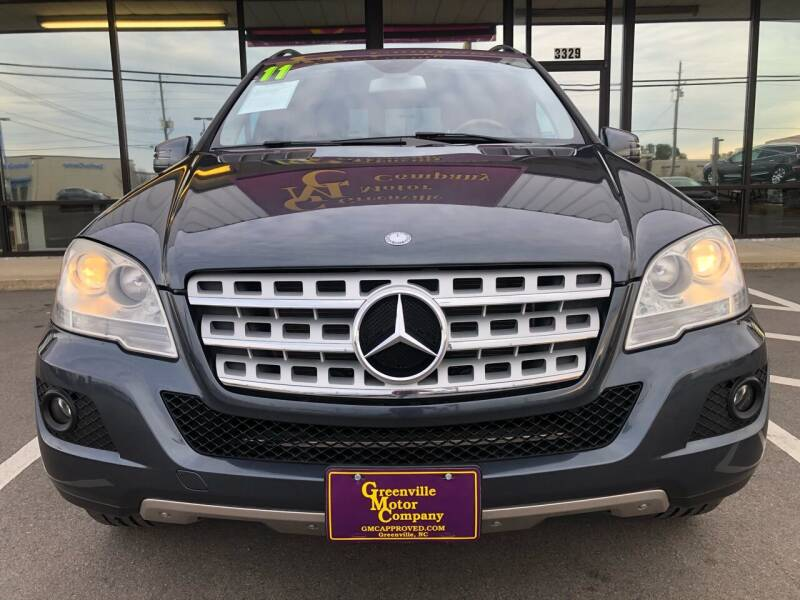 2011 Mercedes-Benz M-Class for sale at Kinston Auto Mart in Kinston NC