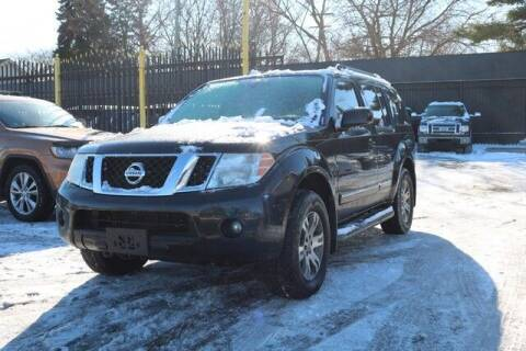 2012 Nissan Pathfinder for sale at F & M AUTO SALES in Detroit MI