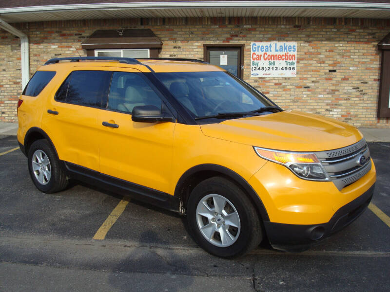 2014 Ford Explorer for sale at Great Lakes Car Connection in Metamora MI