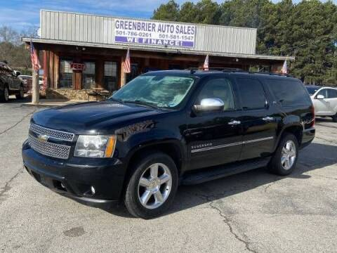 2010 Chevrolet Suburban for sale at Greenbrier Auto Sales in Greenbrier AR
