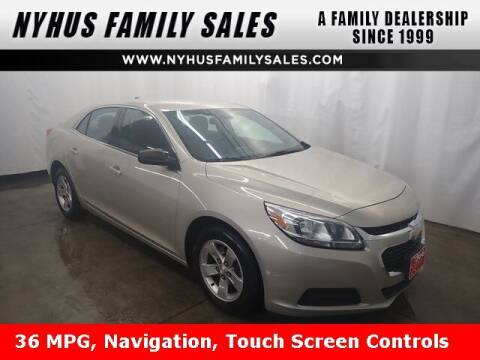 2014 Chevrolet Malibu for sale at Nyhus Family Sales in Perham MN