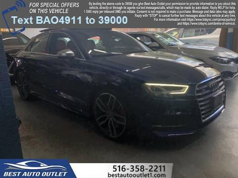 2018 Audi S3 for sale at Best Auto Outlet in Floral Park NY