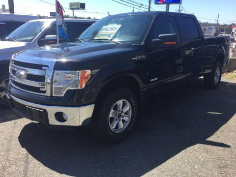 2013 Ford F-150 for sale at 222 Newbury Motors in Peabody MA
