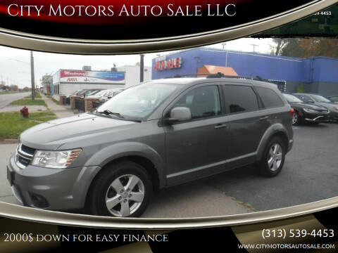 2012 Dodge Journey for sale at City Motors Auto Sale LLC in Redford MI
