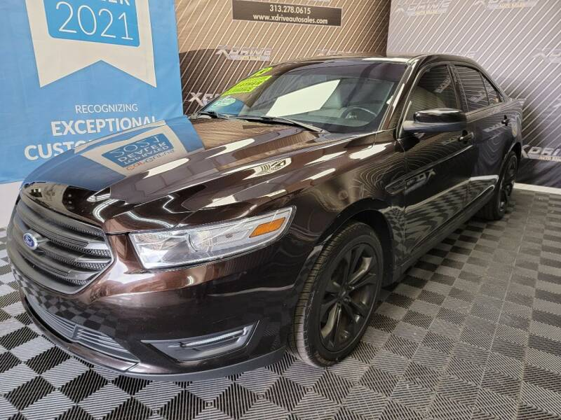 2013 Ford Taurus for sale at X Drive Auto Sales Inc. in Dearborn Heights MI