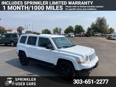 2016 Jeep Patriot for sale at Sprinkler Used Cars in Longmont CO