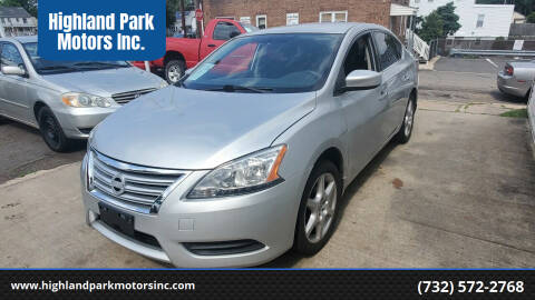 2014 Nissan Sentra for sale at Highland Park Motors Inc. in Highland Park NJ