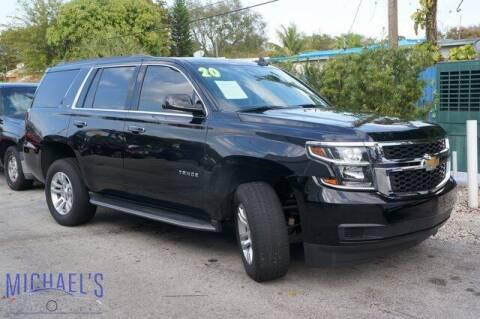 2020 Chevrolet Tahoe for sale at Michael's Auto Sales Corp in Hollywood FL