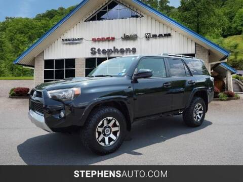 2017 Toyota 4Runner for sale at Stephens Auto Center of Beckley in Beckley WV
