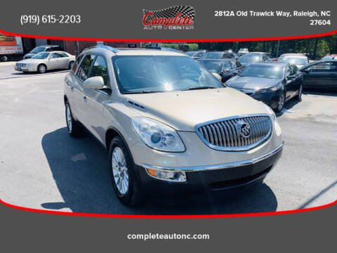 2010 Buick Enclave for sale at Complete Auto Center , Inc in Raleigh NC