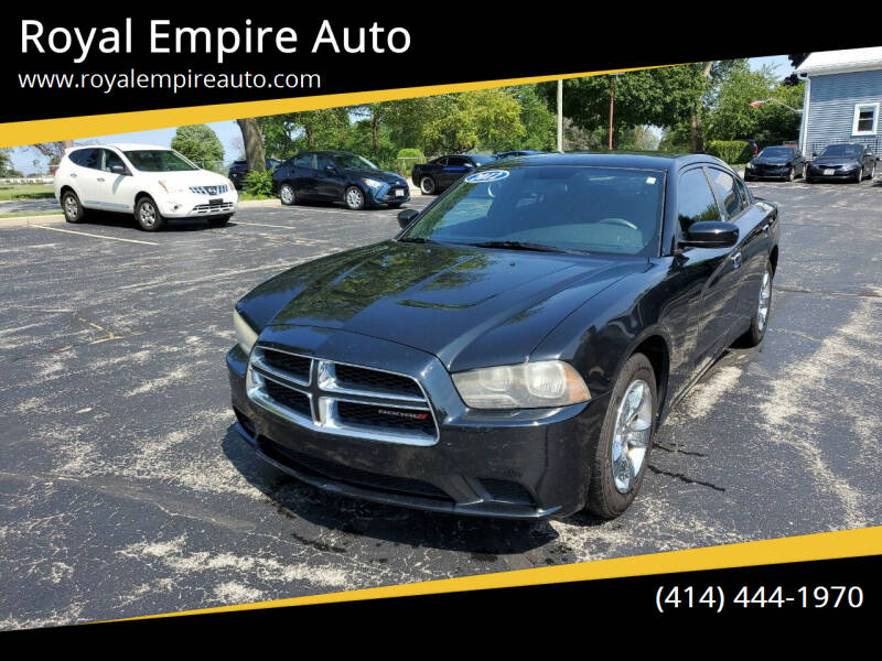 2012 Dodge Charger for sale at Royal Empire Auto in Milwaukee WI