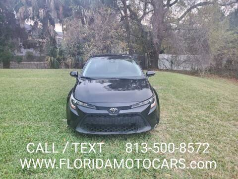 2020 Toyota Corolla for sale at Florida Motocars in Tampa FL