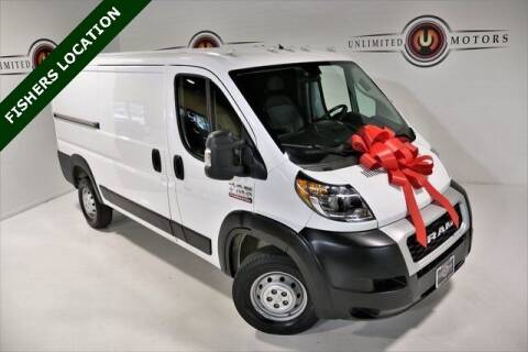 2020 RAM ProMaster Cargo for sale at Unlimited Motors in Fishers IN