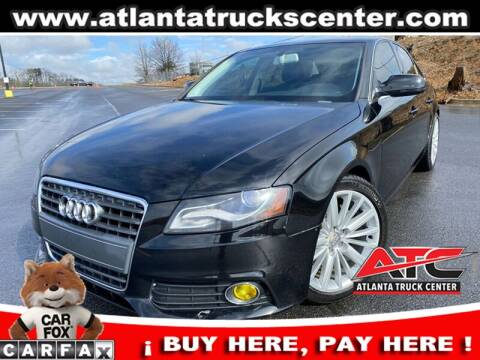 2010 Audi A4 for sale at ATLANTA TRUCK CENTER LLC in Brookhaven GA
