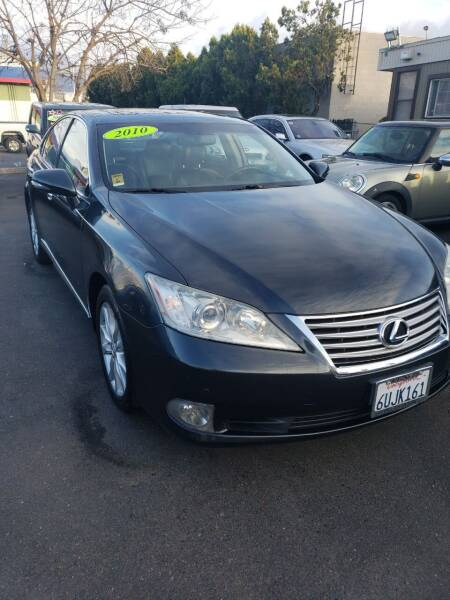 2010 Lexus ES 350 for sale at Thomas Auto Sales in Manteca CA