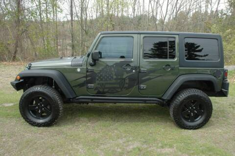 2007 Jeep Wrangler Unlimited for sale at Bruce H Richardson Auto Sales in Windham NH