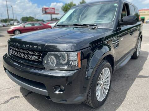 2012 Land Rover Range Rover Sport for sale at Atlantic Auto Sales in Garner NC