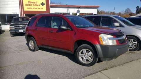 2005 Chevrolet Equinox for sale at Direct Auto Sales+ in Spokane Valley WA