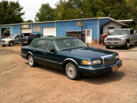 1997 Lincoln Town Car for sale at Tom Boyd Motors in Texarkana TX